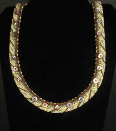 Necklace Ply Split Braiding 29