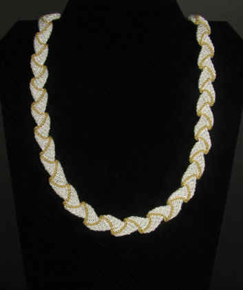 Ply Split Braiding Necklace 35