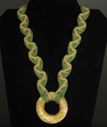 Ply Split Braiding Necklace 38