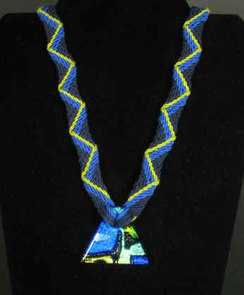 Ply Split Braiding Necklace 58
