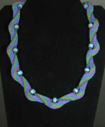 Ply Split Braiding Necklace 65