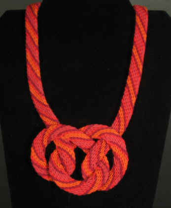 Ply Split Braiding Necklace 72