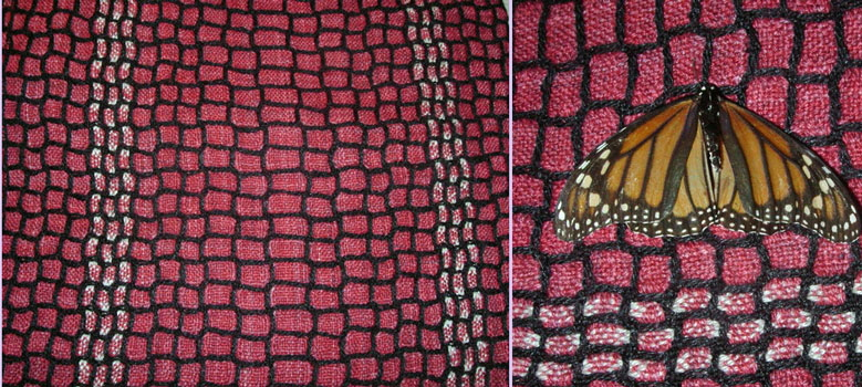 Butterfly Silk-Wool
